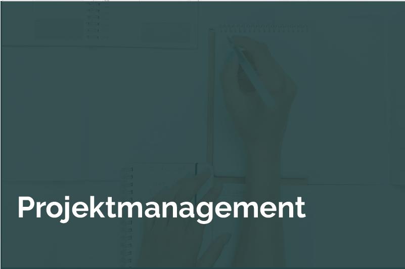Kachel Hover Projektmanagement